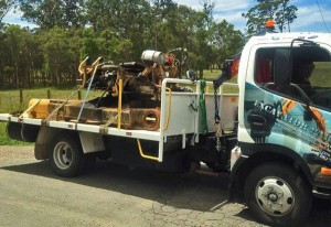 Excavator Machine Spare Parts Delivery