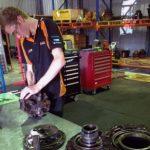 Excavator Machine Mechanic