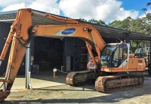 Samsung Excavator Parts