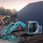 Kobelco SK135 Excavator Machine